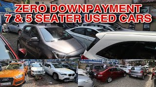 Zero Downpayment 5 & 7 Seater Used Cars For Sale | Easy Car Finance & Car Loan Available