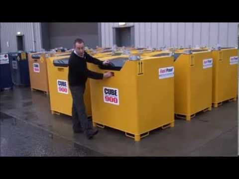 Guide to Fuel Proof Ltd's Fuelcube bunded fuel tank range