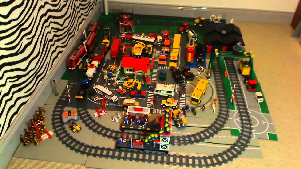 LEGO CITY PASSENGER and CARGO TRAIN SETS - YouTube