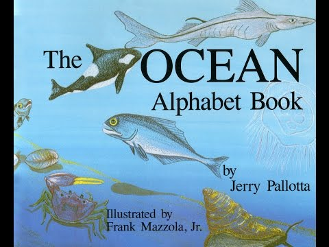 The OCEAN Alphabet Book by Jerry Pallotta. Grandma Annii's Storytime