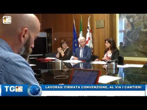 LAVORAS FIRMATA CONVENZIONE AL VIA I CANTIERI