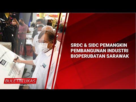 #KlipBuletinUKASSRDC & SIDC Pemangkin Pembangunan Industri Bioperubatan Sarawak