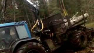 Valtra 6850Hi-tech working