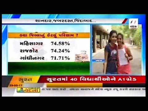 Gujarat Board GSEB Class 10 SSC Results 2017 Declared ॥ Sandesh News