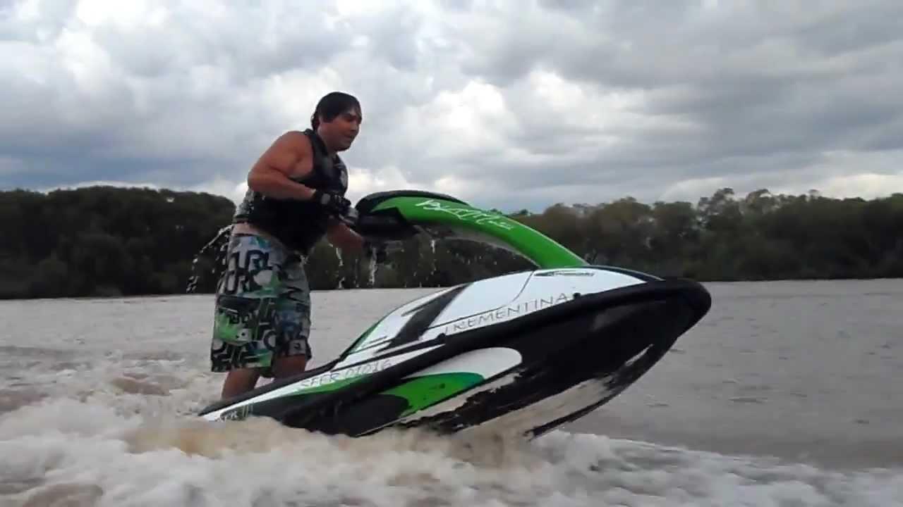 jet ski kawasaki 750 sx 93 - youtube