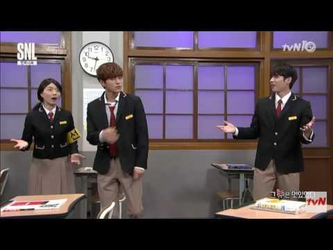 SNL Korea Myungsoo L Pen Pineapple Apple Pen
