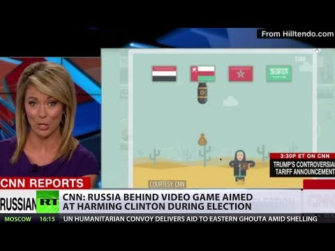 Congrats CNN, you finally caught Russians swaying millions of US voters with this 3-level game