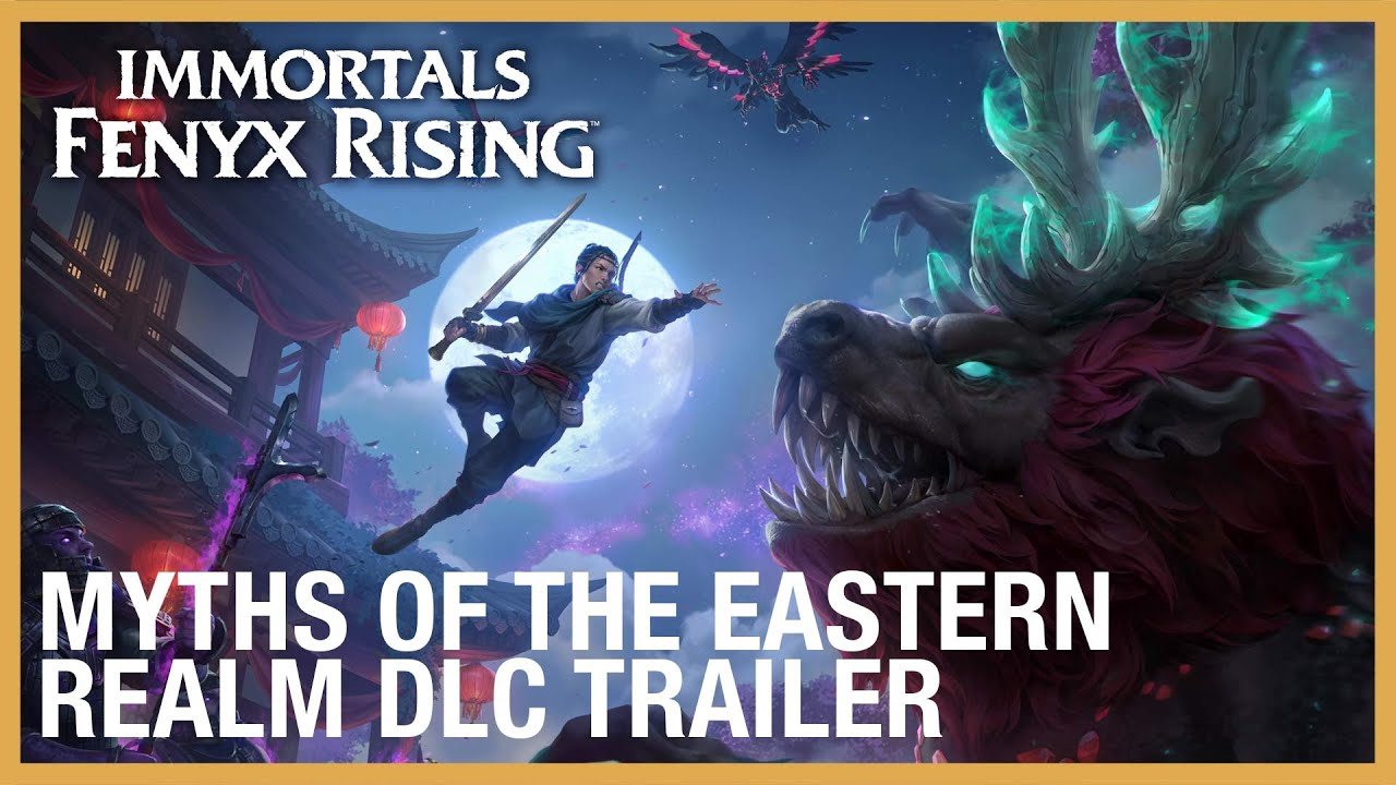 Immortals Fenyx Rising - Myths of the Eastern Realm DLC Trailer | Ubisoft