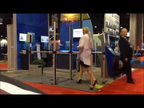SRI International Iris on the Move Passport at ASIS14