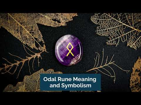 Odal Rune Meaning and Symbolism