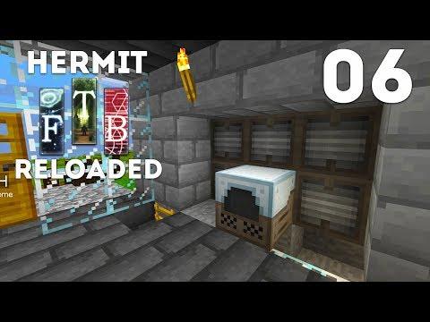 ►Hermits Reloaded - Ep. 6: BLAST FURNACE! (Modded Minecraft 1.12)◄ | IJevin