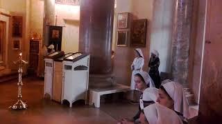 Литургия 2 курса.2017 г. Свято-Димитриевское училище сестер милосердия