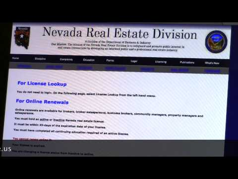 Starting a Real Estate Business in Nevada