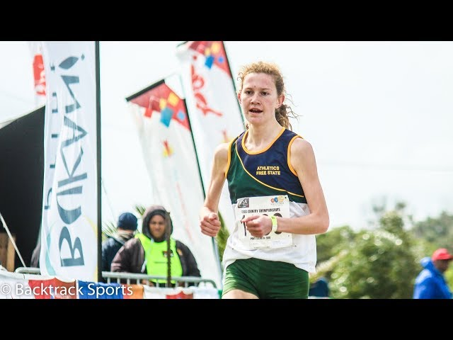 Junior Women 6km Race 2018 SA Cross Country Champs