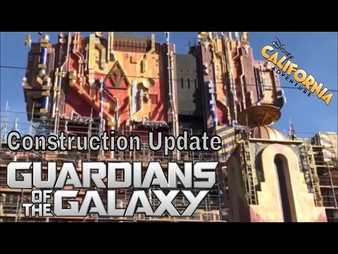 Guardians Of The Galaxy Construction Update 3/30/17