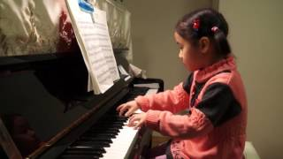 Encore Chen_Age 5_Schumann Album for the Young Op 68 the merry peasant