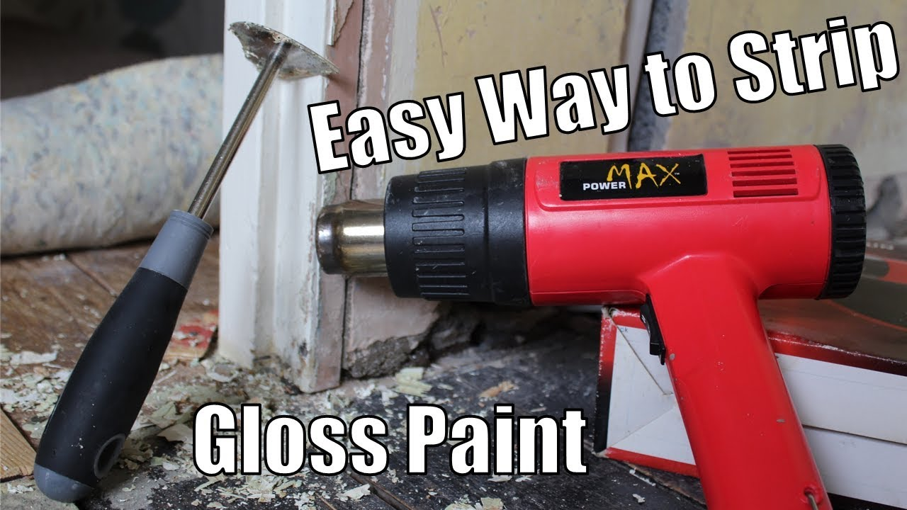 How To Strip Gloss Paint Off Wood Easy Way To Remove Gloss From Door Frames And Skirting