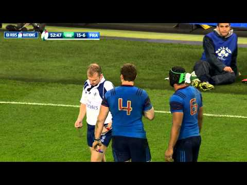 Ireland v France, Official extended highlights worldwide 14th Feb 2015