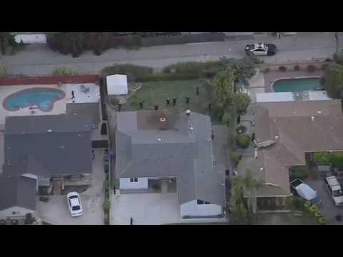 Police Chase Vehicle in San Fernando Valley 15/06/2017