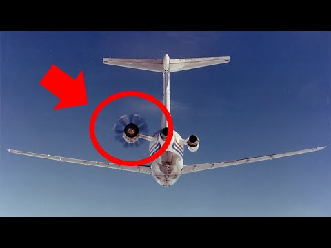 This 727 Had Tail Propellers (and Sounded Like A Saw)