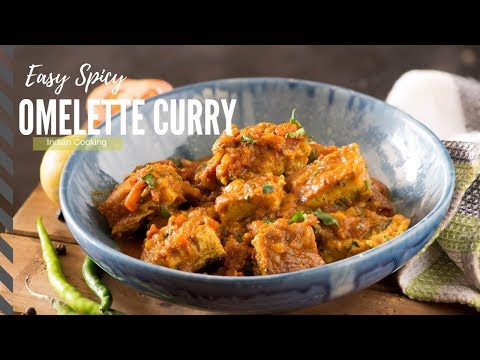 Omelette Curry Recipe - Easy Dinner Recipe - Indian Dinner Recipes