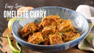 Omelette Curry Recipe - Easy Dinner Recipe - Indian Dinner Recipes