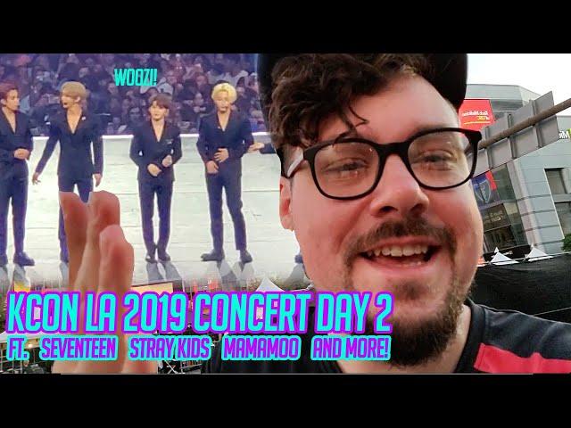 KCON LA 2019 CONCERT DAY 2 - Ft. SEVENTEEN, STRAY KIDS, MAMAMOO & MORE!!