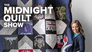 T-shirt Quilt for Father's Day 👕 (with FREE T-shirt Quilt Pattern!)