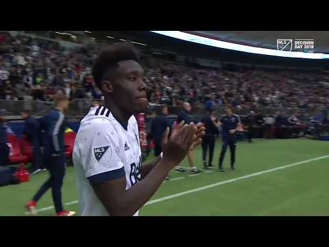 HIGHLIGHTS: Alphonso Davies scores brace in final MLS match