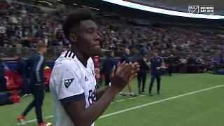 HIGHLIGHTS: Alphonso Davies scores brace in final MLS match