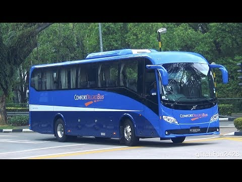 [ComfortDelgro] New 2017 Volvo B7R TQ Alpha Spotted in Singapore - PC6603R
