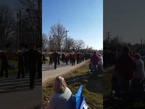 Logan rogersville high school Christmas parade (old)