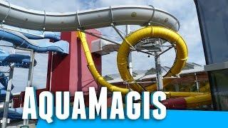 AquaMagis Plettenberg - alle Rutschen Onride (2014/15)