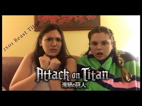 Attack on Titan - 2x01 Beast Titan Reaction