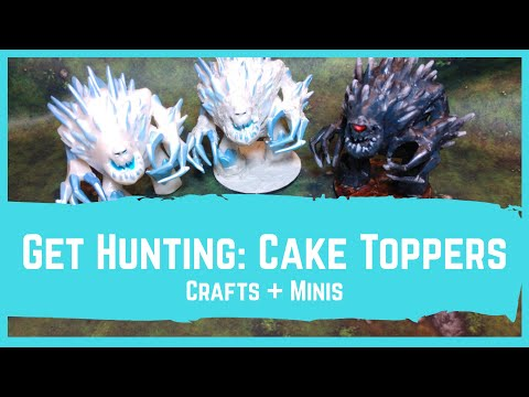 Get Hunting: Cake Toppers For DnD