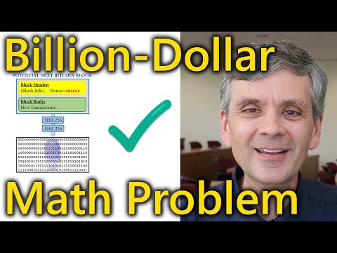The unsolved math problem which could be worth a billion dollars.