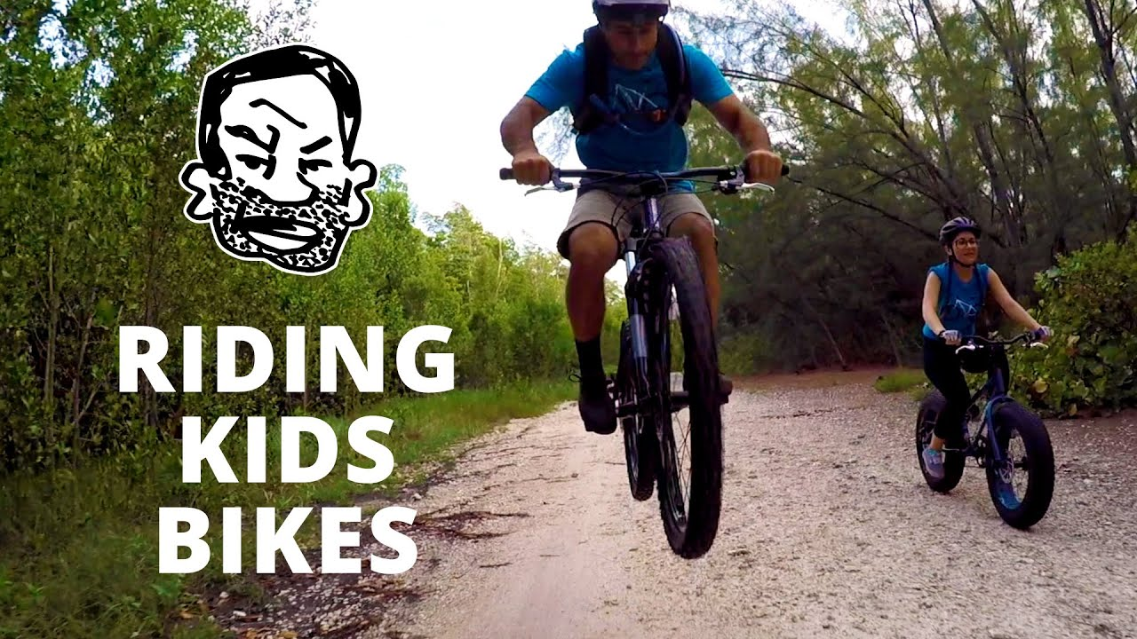 why get a really good kids mountain bike? - youtube