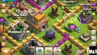 Clash of Clans mit Timon #3 |Die Yolobrüder | sorry wegen schlechter Qualität