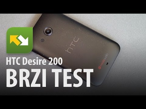 HTC Desire 200 : brzi test