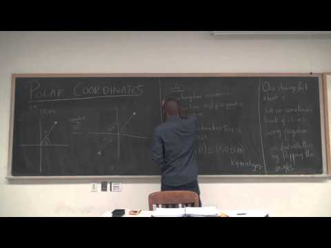 Math 202 Lecture 23 - Introduction to Polar Coordinates
