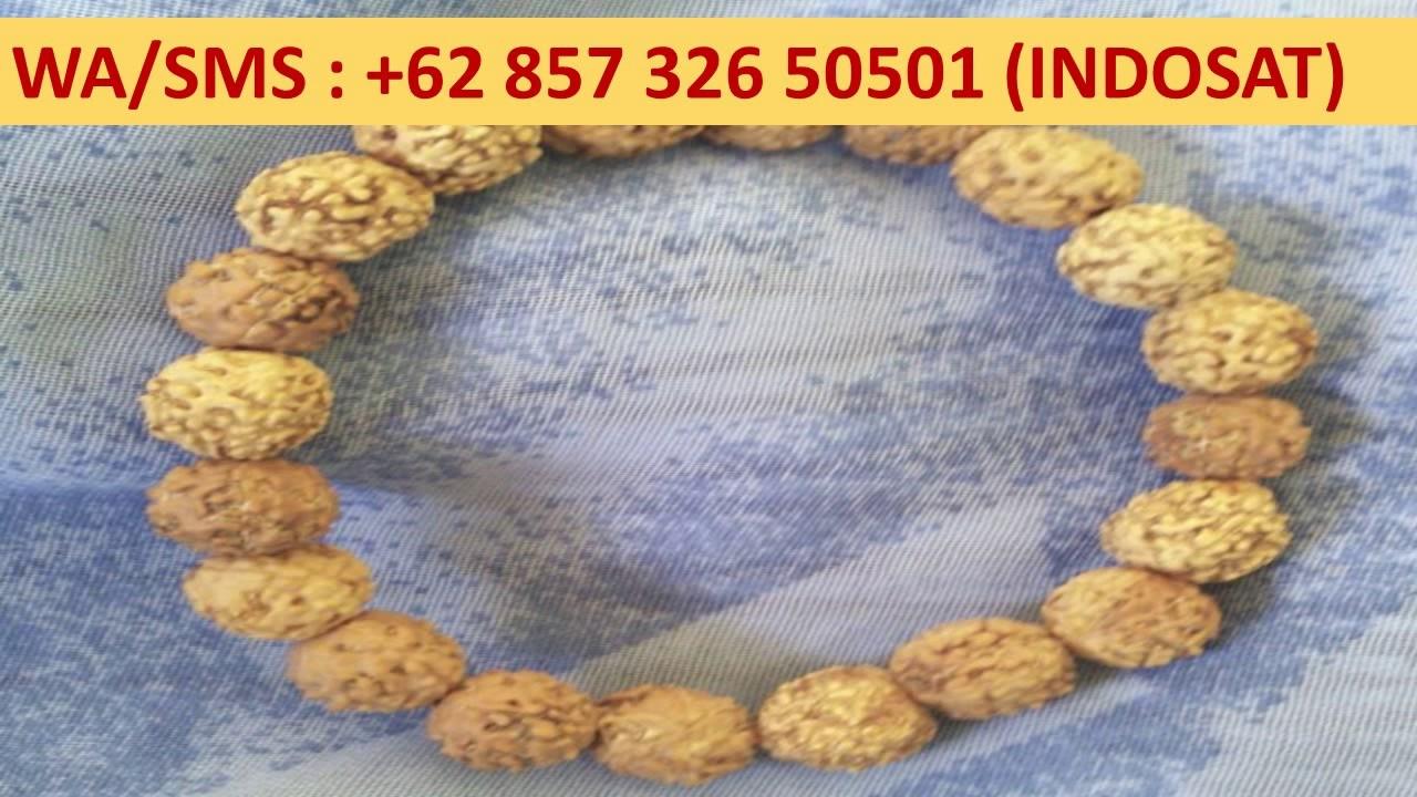 62 857 326 50501 Indosat Tasbih Kayu Langka Cendana Gelang Budha