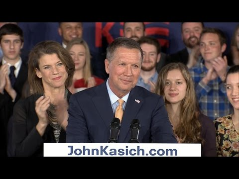 John Kasich Talks to Ohio Voters After Republican Contests