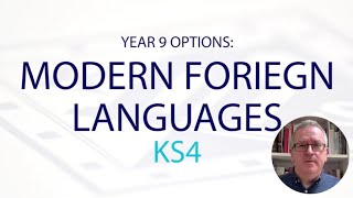 MODERN FOREIGN LANGUAGES KS4