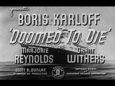 Mr. Wong Detective Movie  (Boris Karloff)