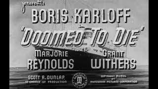 Mr. Wong Detective Movie  (Boris Karloff)