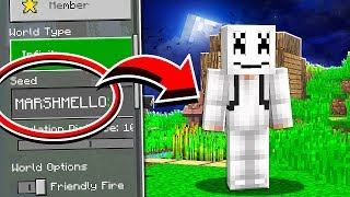 Do NOT Use The MARSHMELLO Seed in Minecraft!