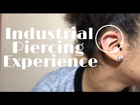 Industrial Piercing Experience//Tips