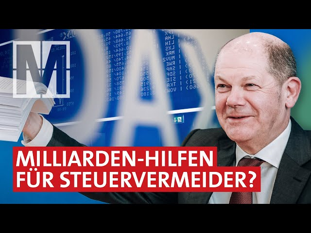 Dax-Konzerne und Corona: Staatshilfen trotz Steuervermeidung - MONITOR