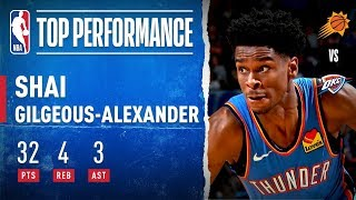 Shai Gilgeous-Alexander Goes OFF For Career-High 32 PTS!