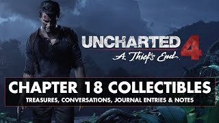 Video Uncharted 4 • Chapter 18 Collectibles • Treasures, Conversations, Journal Entries, & Notes download MP3, 3GP, MP4, WEBM, AVI, FLV Juli 2018